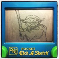 Etch-A-Sketch Art:: Yoda by BlvqWulph