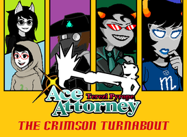 Terezi Pyrope Ace Attorney- The Crimson Turnabout by Nfreak974