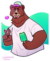 Commission: bear by Cubesona