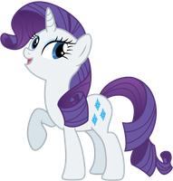 Rarity: The pony everypony should know. by AxemGR