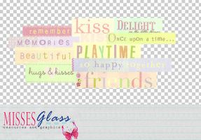 Text pngs 3 by Missesglass