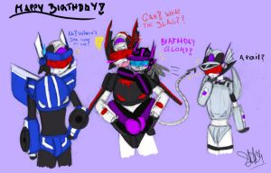 BDay for BloodyChaser c: by ShadowDemon101