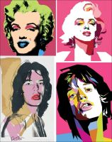 TRIBUTE to WARHOL by wedhahai