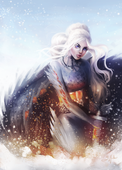 Warrior Dany by Sandramalie