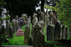 Busy graveyard stock by rustymermaid-stock
