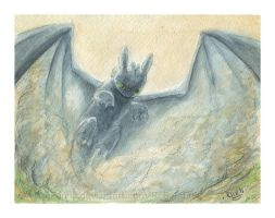 Toothless Rising by A113Panda