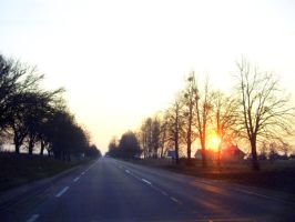 Road to the Kaunas by MeAndMyHand