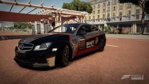 Forza Horzon 2: 2012 Mercedes-Benz C 63 AMG Coupe by ZER0GEO