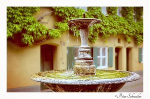 Old fountain. by Phototubby