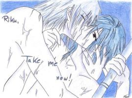 This is a Riku...and a Zexion by Em0RiKuSaiX