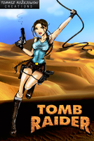 My Tomb Raider Artwork by zelu1984