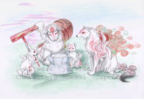 Ammy and friends by jessielp89
