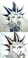 Anime vs. My Style by Ycajal