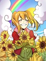Sunflowers 1 by Lily-Draws