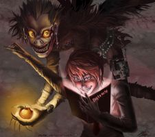 Death Note by Pepperoonie