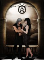 Under the Pentacle by Frollein-Zombie