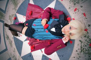 Alois Trancy Cosplay- Red Peddles by Awesome-Vivi