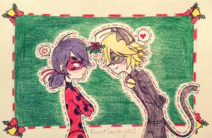 LadyNoir - Mistletoe by FrostSentry150