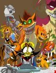 Cortex's Monsters by mcp100