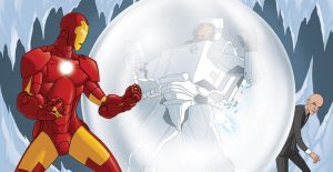 Iron Man Deep Freeze pgs 22-23 by MBorkowski