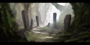 Forest Graveyard by mrNepa