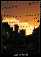 Sunset over Morpeth by RandomGoth