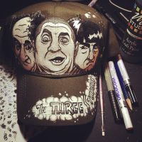 Three Stooges Hat by Chylde