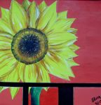 sunflower by tinypixy