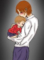 father and son by Hinatagirlie