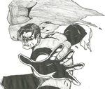 Hal Jordan Sketch by Scial