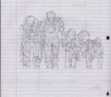 Halo: Reach by DirtyPaws13