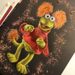 Red : Fraggle Rock by Wolfish-Dreams
