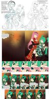 Processes: Chinatown Babes by klinanime