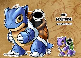 #09 Blastoise by cartoonist