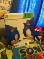 My sonic generations collectors edition by SONICJENNY