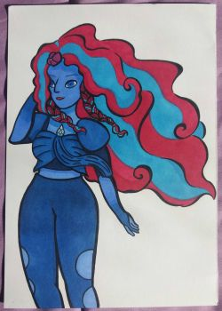Aquamarine - GIVEAWAY PRICE by MelodyLawrenceArt