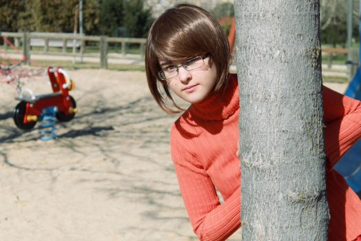 Velma Dinkley - Who's out there? by Yuno-chaan