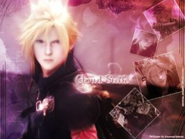 Cloud Strife by areemus