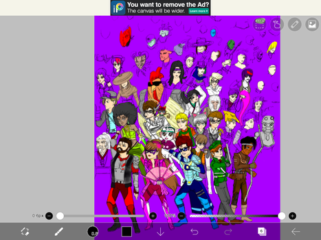 The Specter Stoppers poster WIP by GBMelendez23k