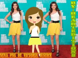 Nena de Victoria Justice png by HeartEditions809755