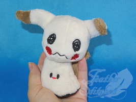 Tiny Mimikyu by FeatherStitched
