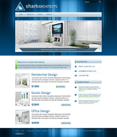 Shark Architecture Website by ipholio