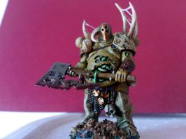 Nurgle chaos Lord by franarok