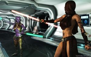 Jedi vs Sith by Dendory