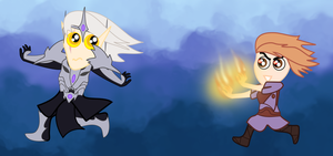 Don't Screw with a Pyromancer by NorroenDyrd