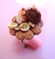 Waffle Ring by PinkCakes