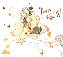 Fall with SeeU by Patissierre