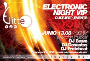 Elitte Lounge Bar Flyer by INSAX