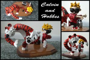 Calvin and Hobbes by Cyle
