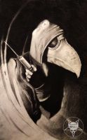 Plague doctor by AndreySkull